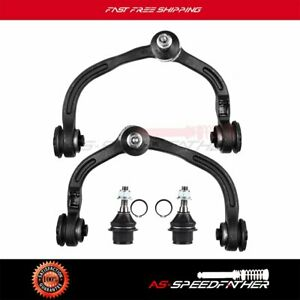 4pc Front Upper Control Arms Ball Joints Kit For 2003 2004 Ford Expedition