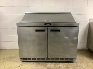 Prep Table Delfield 48np Mega Top Refrigerated Tested