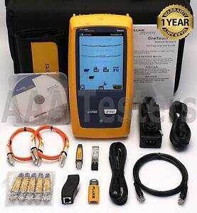 Fluke Networks Onetouch At 1t 3000 Copper Fiber Wireless Network Tester Versiv