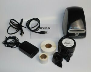 Dymo Labelwriter 450 Turbo Label Thermal Printer Black with Box Pre owned