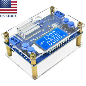5a Dc dc Buck Step down Constant Voltage Current Lcd Power Supply Module case