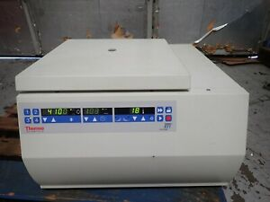 Thermo Fisher Scientific Sorvall Rt1 Refrigerated Centrifuge With Rotor T41