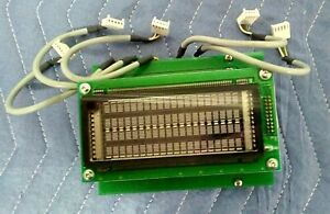 Zeag Parking Ag Pcb Circuit Pcb Board Part 113 0601 W Futaba Display M204sd01a