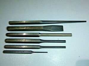 Armstrong Tools Usa 6 Piece Punch Chisel Set Nice