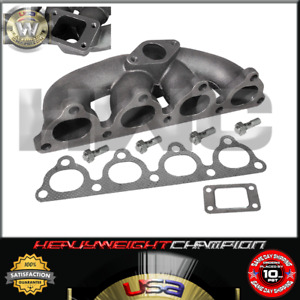 1992 2000 Honda Civic Eg Ek6 Ek9 Sohc D Series T3 T4 Cast Turbo Manifold Exhaust
