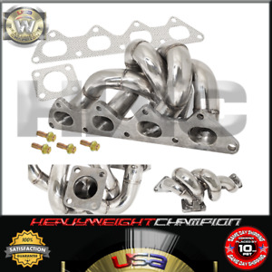 89 99 Mitsubishi 4g63 2 0l Evolution Galant Td05 Turbo Manifold Stainless Header