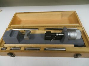 Standard Gage Dial Bore Setting Master Metric Case Included Oc49