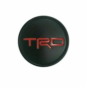 Trd Center Cap 19 Matte Black Wheel Pt280 03200 02 Camry Avalon Set Of 4