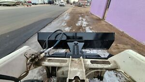 New Heavy 7 Four Way Dozer Blade Plow For Skid Steer Fits Quick Attach
