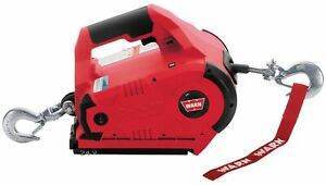 Warn 885005 Cordless Pullzall Red