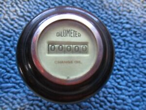 Vintage Super Rare Shift Knob Oil O Meter 1932 1934 1940 Ford Flathead