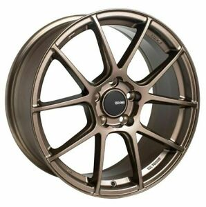 18x8 5 Enkei Ts v 5x114 3 38 Bronze Paint Wheels Rims Set 4
