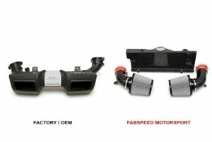 Fabspeed Carbon Fiber Competition Air Intake For 2006 2009 Porsche 997 Turbo