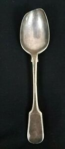 Vintage Mid Century Westmoreland Sterling Salt Spoon Cambridge Glass Cellar Dip