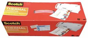 Scotch Thermal Laminator 2 Roller System Tl902 Fast Warms Up Laminating Machine