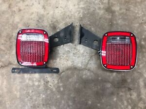 Grote 5370 5371 Tail Lights Trailer Truck Ford Cab Rv Semi Chassis Angle Plug