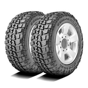 2 New Federal Couragia M t Lt 265 70r17 121 118q E 10 Ply Mt Mud Tires