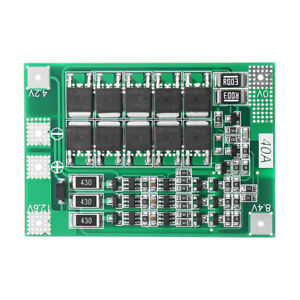 3s 40a Li ion Lithium Battery Charger Protection Board Pcb Bms For Drill Motor