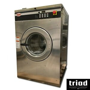 10 Unimac 30lb Opl 3phase Commercial Washer Speed Queen Huebsch Hotel Motel