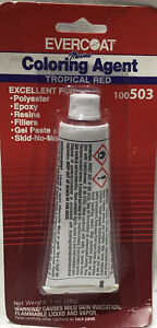 Evercoat Marine Coloring Agent Tropical Red 100503