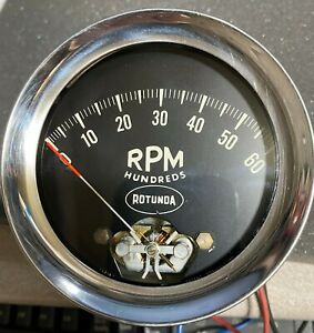 6k Tachometer Rotunda Ford Mercury Shelby Cobra Original 1966 Working