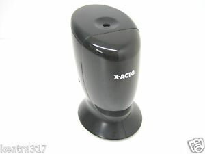Electric Pencil Sharpener Top Load Black X acto W1730