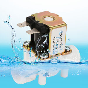 12v 1 2 N c Electric Solenoid Magnetic Water Valve Normally Closed Irrigation
