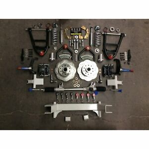 Universal 58 5 Track Cornerkiller Ifs Coilover Stock Spindle 5x4 75 Manual Rack