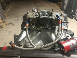 Holley Hardcore 950 With Fuel Lines Runs Great Mopar Ford Chevy Stroker