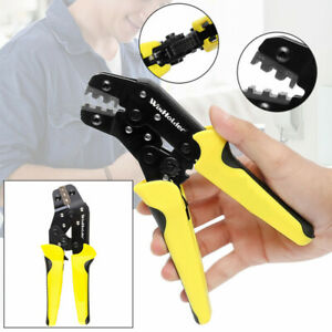 Insulated Cable Connectors Terminal Crimping Tool Wire Crimper Pliers Usa