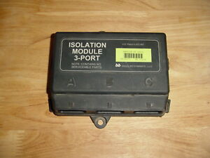Western Fisher Snow Plow Isolation Module 3 Port Pn 29070 Ultra Mount