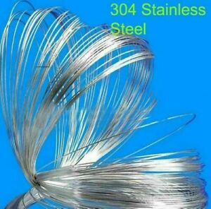 Wire Dia 0 4 0 5 0 6 0 7 0 8 2 0mm 304 Stainless Steel Spring Wire Accessories