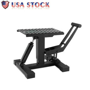 Adjustable Height Lift Stand Motorcycle Easy Lift Table Stand Jack Damper Shock
