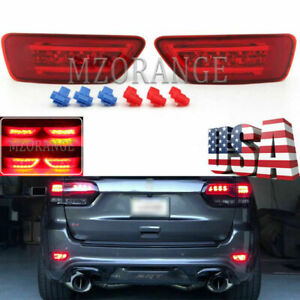 Led Rear Bumper Fog Light For Jeep Grand Cherokee Wk2 2011 2012 13 2020 Compass