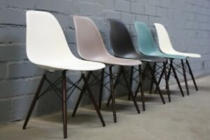 Vitra Chair Dsw By Charles Eames Colour Choice Plastic Wood