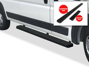 Iboard Running Boards 5in Black Fit 14 21 Dodge Promaster 136in 159in Wheelbase