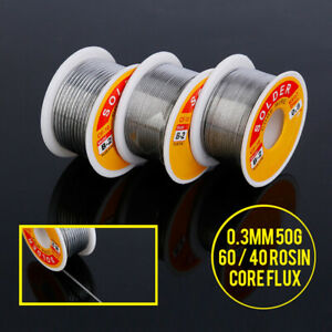 50g 0 3mm Tin Rosin Lead Core Roll Solder Soldering Wire For Repair Divine