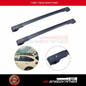 2x For 2012 2016 Subaru Crosstrek Aero style Roof Rack Cross Bar Set Luggage