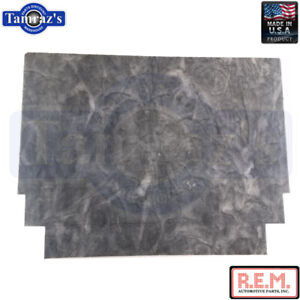 66 67 Fairlane Under Hood Insulation Pad 1 2 Thick Improved Quality Rem