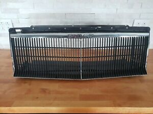 84 86 Buick Grand National T Type Grille Black chrome