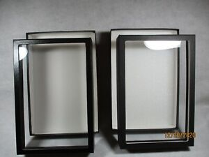 Riker Mount Specimen jewelry Cases Shadow Boxes 8 X 12 X 2 Set Of Two