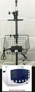 Welch Allyn Vital Signs Monitor Rolling Mobile Stand 300 Series 53xxx