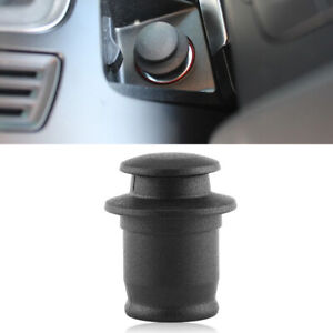 Waterproof Car Plug Cigarette Lighter Socket Dust Cap Cover Replacement Trim