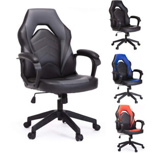 Racing Gaming Chair Ergonomic Executive Computer Desk Swivel Office Chair