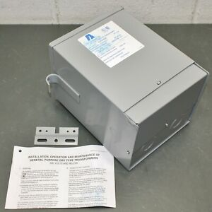 Acme Electric Single Phase Step down Transformer T279743s 3 Kva 120v 240v Out