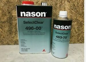 496 00 2k Urethane Clear Coat Spot Clear Gallon With 483 78 Activator Kit