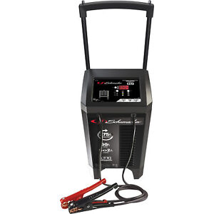 Schumacher Fully Automatic Wheeled Battery Charger With Engine Starter