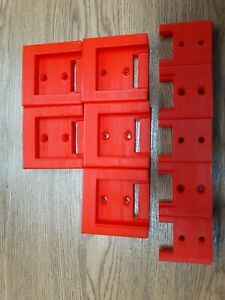 5x5 Combopack Snap on 18 Volt 5 Tool Holders And 5 Battery Holders