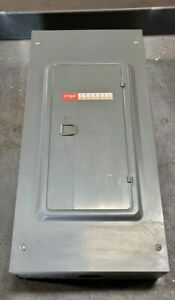 Federal Pacific 100 Amp Main Lug Load Center 240 Vac 3 24 Space 312 24