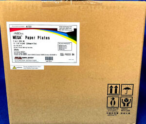 Megapro Paper Plate Material Abdick 41721 11 1 4 X 246 X 007 1 Roll